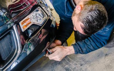 Comment réparer la carrosserie d'une voiture